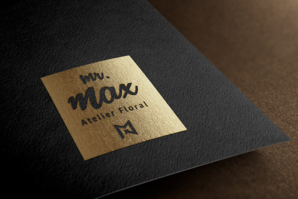 Logo Mr MAX Atelier Floral - MANTHELAN
